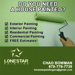 Lonestar Painting
