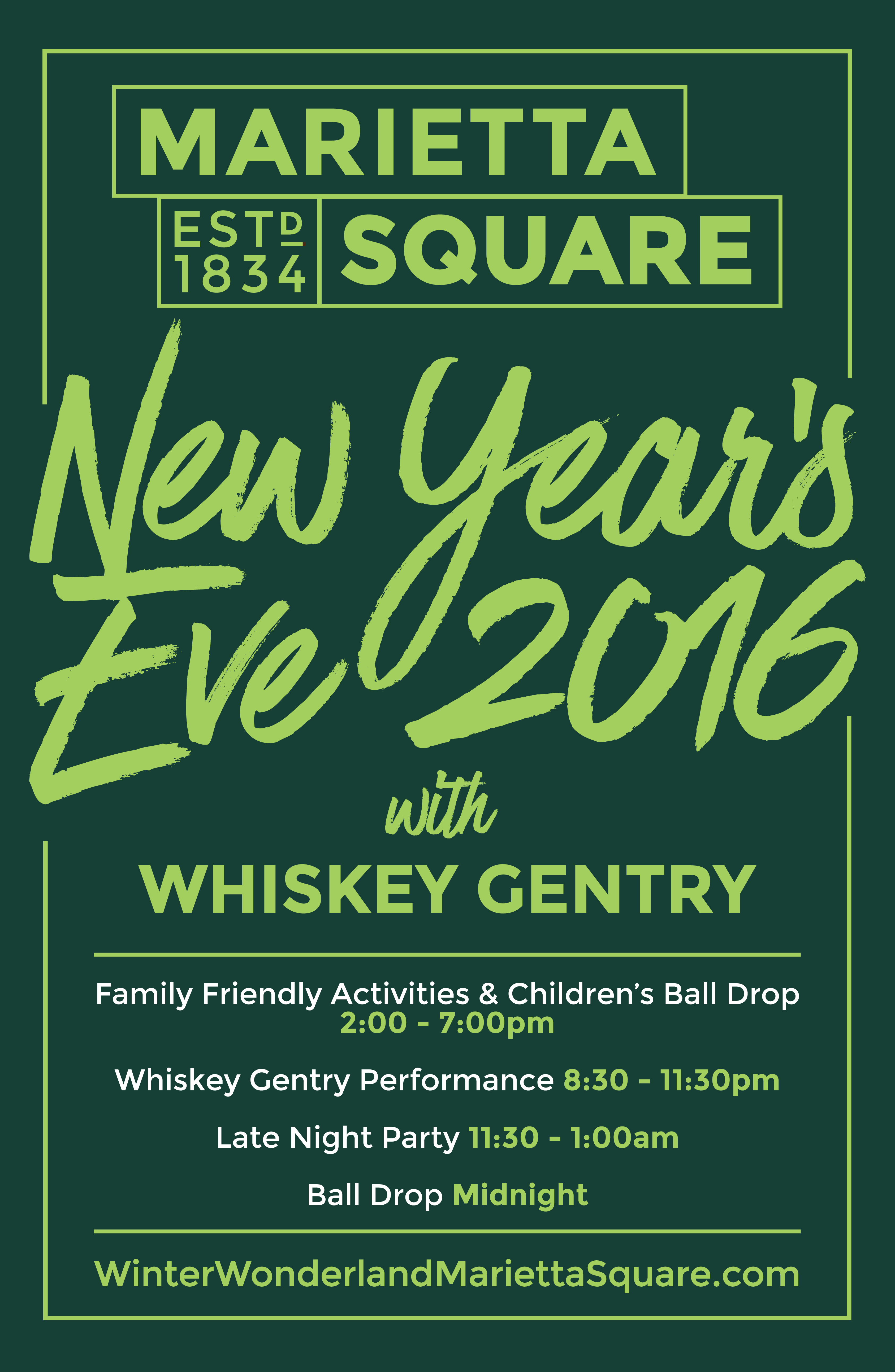 New Year's Eve Marietta Square poster from mariettacalendar.com