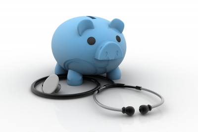 """""""Piggy Bank And Stethoscope"""" by cooldesign"""
